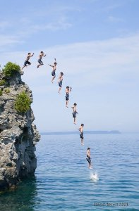 Cliffjumpers. Credit Dennis Graves. Creative Commons https://creativecommons.org/licenses/by-nc-nd/2.0/